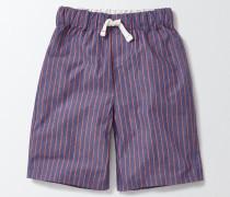 Pyjamaset mit Shorts Navy Jungen Boden
