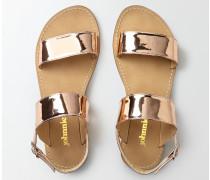Sandalen für jeden Tag Rotgold Mädchen