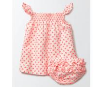Sommerliches gesmoktes Kleid Pink Baby Boden