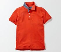 Poloshirt aus Piqué Rot Jungen