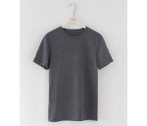 Meliertes T-Shirt Grau Herren Boden