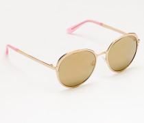 Pamplona Sonnenbrille Gold Damen Boden