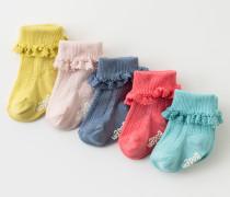 Hübsche Socken im 5er-Pack Bunt