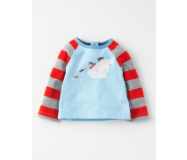 Südpol T-Shirt Blau Baby Boden