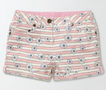 Jeansshorts Pink Mädchen Boden