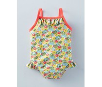 Bunt mit Pünktchen Badeanzug für Mädchen