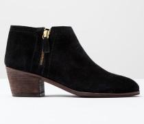 Stiefeletten mit hohem Absatz und Reißverschluss Schwarz Damen Boden