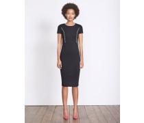 Marianna Kleid aus Ponte-Roma-Jersey Schwarz Damen