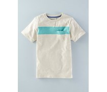 """In To The Blue"" T-Shirt Beige Jungen"