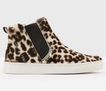 Hohe Josie Sneakers Grey Damen