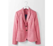 Elisabeth Blazer aus britischem Tweed Pink Damen