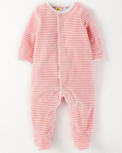 boden baby gem tlicher schlafanzug aus nicki pink baby. Black Bedroom Furniture Sets. Home Design Ideas