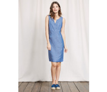 Nathalie Kleid Blau Damen