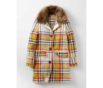 Traditioneller Mantel Gelb Mädchen