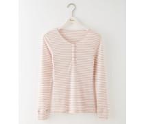 Gemütliches Jerseyshirt Pink Damen
