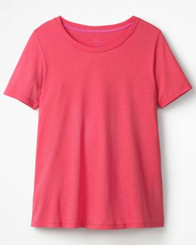 Superweiches unkompliziertes T-Shirt Pink Damen