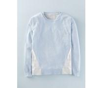 Unkomplizierter, leichter Pullover Blaugr�n Damen