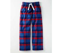 Gebürstete Pyjamahose Rot Jungen