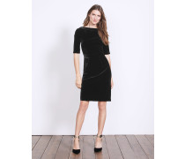 Martha Samtkleid Black Damen