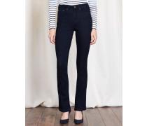 Schmale Marylebone Bootcut-Jeans Indigoblau Damen Boden