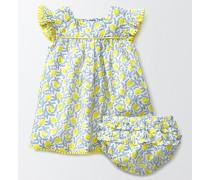 Hübsches fließendes Kleid Gelb Baby Boden
