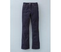 Bootcut-Jeans Indigoblau Damen