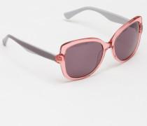 Sonnenbrille Rotgold Damen Boden