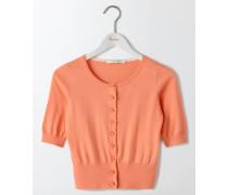 Cardigan im Fünfziger-Stil Pfirsichfarben Damen