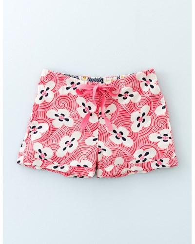 Boden damen gewebte shorts rosa boden 20 reduziert for Mini boden gutschein