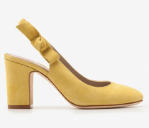 Sena Slingbackballerinas Yellow Damen