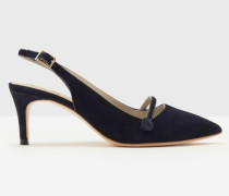 Lois Slingback-Pumps Navy Damen