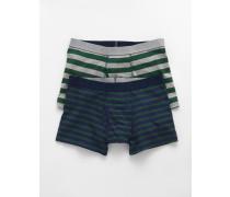 Jersey-Boxershorts im 2er-Pack Green Herren