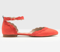 Flache Elsie Schuhe Red Damen