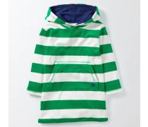 Frottee-Kapuzenpullover Grün Jungen