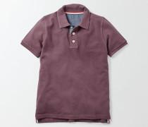 Poloshirt aus Piqué Lila Jungen
