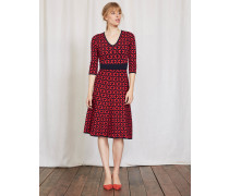 Amy Strickkleid Rot Damen