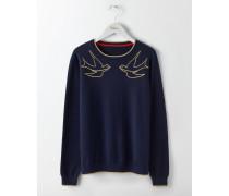 Maisie Pullover Navy Damen