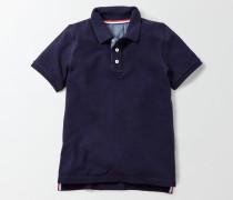 Poloshirt aus Piqué Navy Jungen