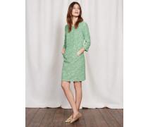 Hannah Kleid mit Ziernaht Gr�n Damen Boden