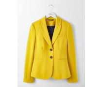 Elizabeth Ponte-Blazer Yellow Damen