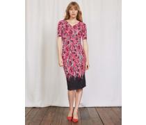 Rita Kleid mit Raffung Pink Damen