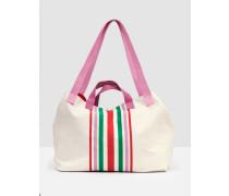 Capri Strandtasche Ivory Damen
