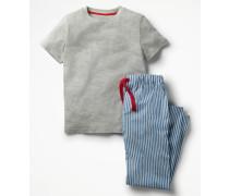 Pyjamaset Blue Jungen Boden