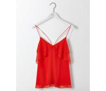 Grace Trägerhemd aus Seide Red Damen