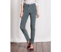 Mittelhohe schmale Jeans Dunkelgr�n Damen Boden
