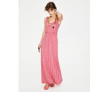 Diana Jersey-Maxikleid Pink Damen