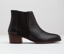 Chelsea-Stiefel Schwarz Damen