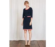 Gloria Kleid aus Ponte-Roma-Jersey Navy Damen