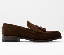 Hinten offene Loafer Brown Herren