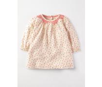 Gesmoktes Winterkleid Cremefarben Baby Boden